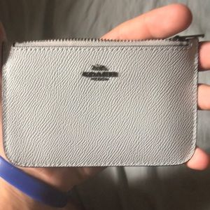 Coach wallet light blue